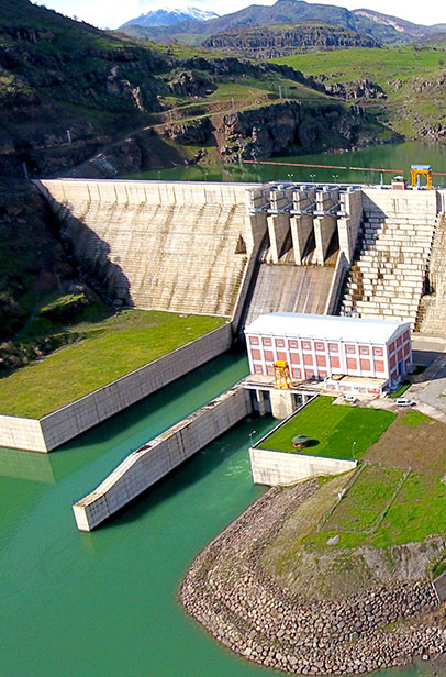 PEMBELİK DAM AND HYDROELECTRIC POWER PLANT